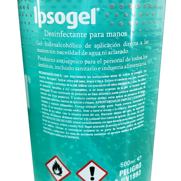 Ipsogel Yanni Piercing Alcohol En Gel 3